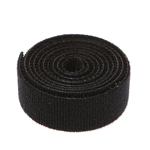 luosh Wiederverwendbare Nylon-Kabelbinder Bandage 1M Bobbin Winder Organizer Strap