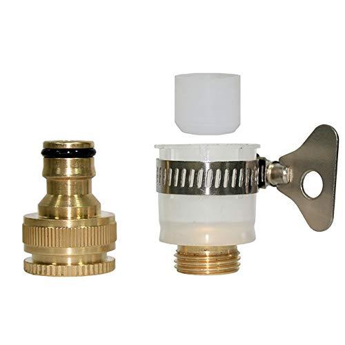 UANDM Wasmachine kraan adapter 4 punten slang multifunctionele standaard aansluiting Auto wassen waterpistool inlaat pijp fittingen