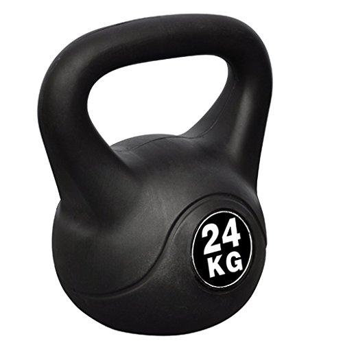 Festnight Fitness Kettlebell Tranining Kugelhantel Gewicht von 24 kg 24 x 30 x 34 cm