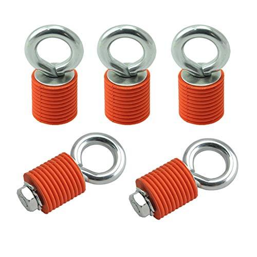 furong Lazo de Anclajes y guardabosques de Cables Tapón de Tope de cableado para Polaris RZR 570 S 900 800 1000 XP Sportsman 110 400 450 (Color : Orange)