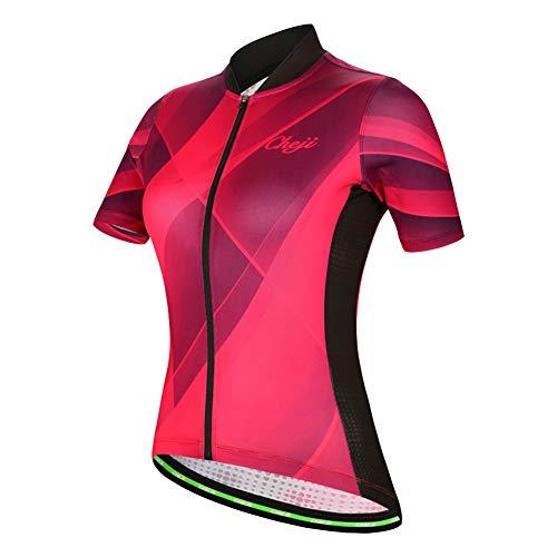 LPATTERN Maillots de Ciclismo para Mujer Conjunto de Ropa Bicicleta con Culotte...