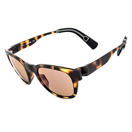 zero rh+ RH869S13 (50 mm) Gafas, Marrón, 50/23/140 Unisex Adulto