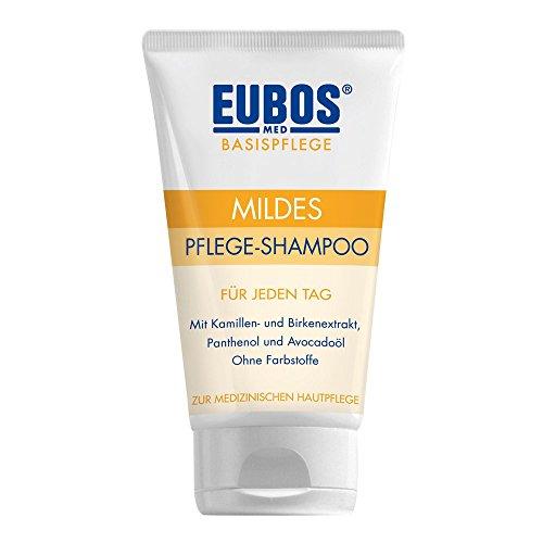 Eubos | mildes Plege - Shampoo | 150ml| für jeden Haartyp| Hautverträglichkeit dermatologisch bestätigt