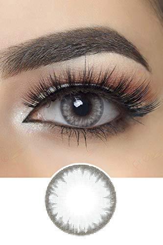 Pro Farbige Kontaktlinsen (Crystal Gray)