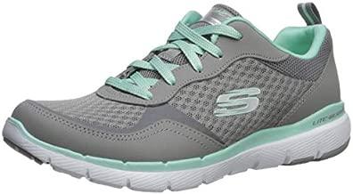 Skechers Women's Flex Appeal 3.0-go Forward Sneaker, GYMN, 7.5 M US