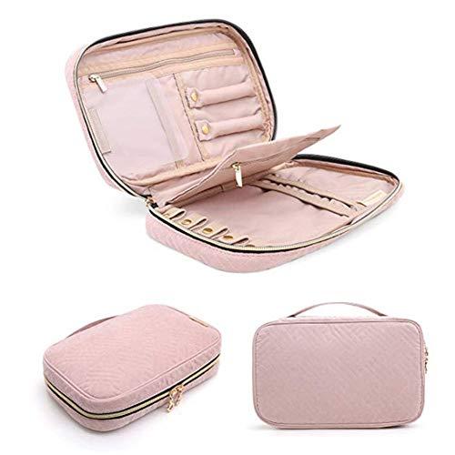 Cajas para Joyas joyero Viaje Caja de joyería Moderna joyería de la Caja Caja de la baratija Bastante, Caja de joyería Joyero de Gran Capacidad Pink