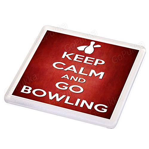 Keep Calm and Go Bowling - Untersetzer