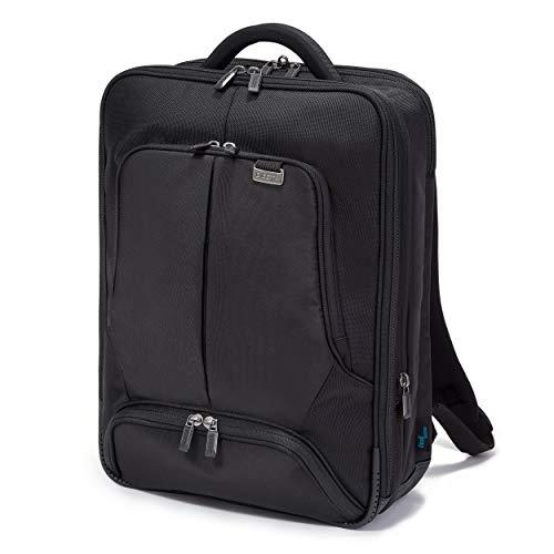 Dicota Backpack 12–14,1 Zoll PRO Rucksacktasche für Laptop, Computer und Tablet, Leichtgewichtige Laptoptasche, Schwarz