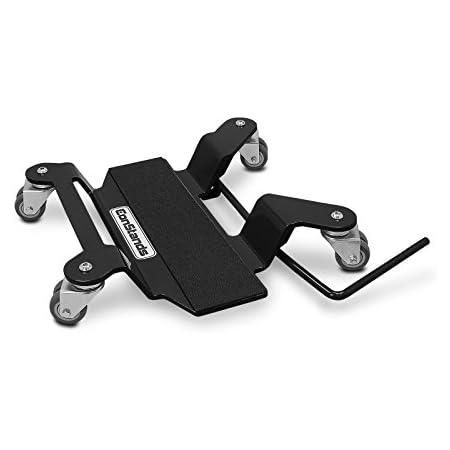 Motorrad Rangierplatte Kompatibel Für Hauptständer Constands Schwarz Auto