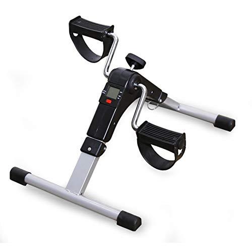TYX-SS Heimtrainer Faltbare Fitness Fahrrad Haushalt Mini Heimtrainer Body Body Gym Maschine Mit Anti-Rutsch-Pedal Handbein Rehabilitation Indoor