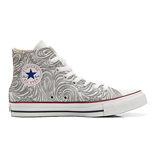 Scarpe Donna Sneakers - Original USA - Hi Canvas, Scarpe Personalizzate (Prodotto Artigianali) Light...
