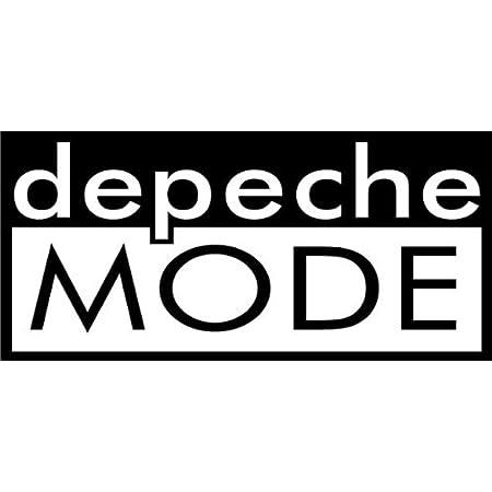 Tatouage Voiture Arrière Déco Film Depeche Mode 2 Autocollant 15 cm BLANC DM Bâtonnets recup