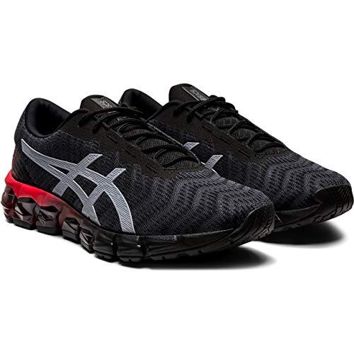 Asics Gel Quantum 180 5 Sr, Zapatillas de Running para Hombre, Negro (Black/Sheet Rock), Talla del Fabricante: 11