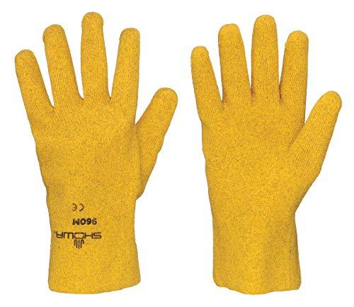 Revestimiento de guantes, L, amarillo, PR