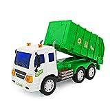 deAO RC Camiones de Serie Camión de Construcción a Radio Control Vehículo de Obras con Luces y Sonidos Nivel Principiante (Camión Contenedor)