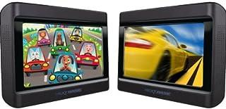 """Next Base Next 9 Lite Duo Deluxe Lecteur DVD Portable Double écrans 9"""" avec 2.."""