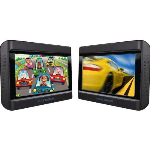 Nextbase Click 9 Lite - Reproductores de DVD portátiles con soporte para coche (pantalla de 92 (22,9 cm), puerto USB) (importado)