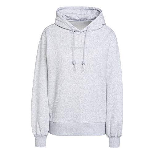 adidas Originals Hoodie Sweatshirt, Gris Clair, 32 Femenino