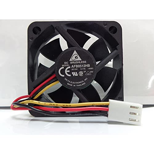 AFB0512HB 5015 12V 0.17A 5CM double ball cooling fan