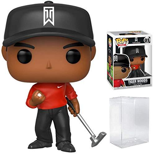 Pop Sports: PGA Tiger Woods Red Shirt Pop Vinyl Figure (Bundled with Pop...