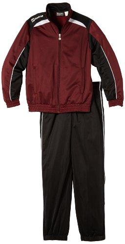 Lotto Sport Jungen Trainingsanzug Suit Assist Cuff JR, granata/blk, XS, N5481