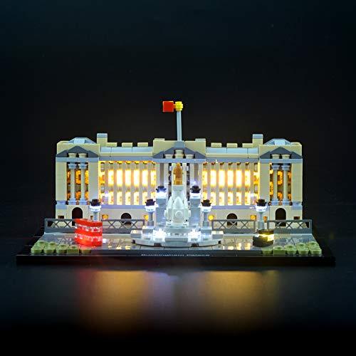 LIGHTAILING Licht-Set Für (Der Buckingham Palace) Modell - LED Licht-Set Kompatibel Mit Lego 21029(Modell Nicht Enthalten)
