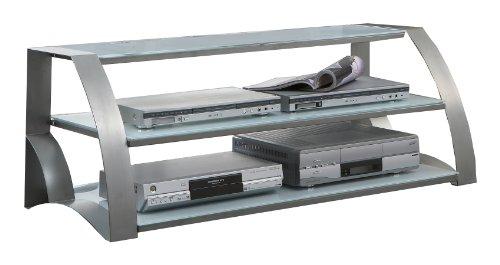 Java Exclusiv 52165 TV-Phonotisch 53 x 120 x 44 cm, alufarbig