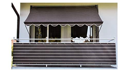 Angerer Klemmmarkise N. 2400 Braun 150 x 400 x 225 cm , 2304/2400
