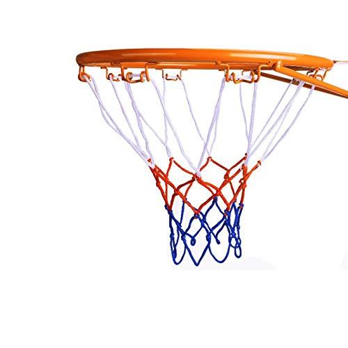 UyuECCL Kids Basketball Hoop, Dream Travel 2PCS Basketball Rim Goal Wall Mounted Basketball Hoop Indoor Outdoor Hanging Basketball Hoop, 32centimeter/12.6inch (1PCS)