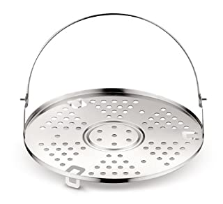 Lagostina Accessorio per Pentola a Pressione Griglia, Acciaio Inox, Diametro 22 cm per capacità 3.5/5 / 6/7 / 9 Litri (B00BW0DQN0) | Amazon price tracker / tracking, Amazon price history charts, Amazon price watches, Amazon price drop alerts