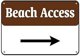 Best beach access sign Reviews
