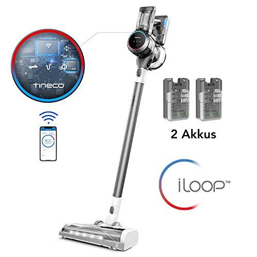 Tineco smarter Akku Staubsauger S11 Tango EX Bürststaubsauger, Smarte Saugfunktion, perfect für harte Böden, Teppich- und Tierhaarreinigung