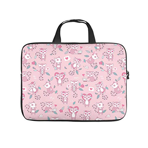 Cute and Active Squirrel Laptop Bag Dustproof Protective Case for Laptops Pattern Notebook Bag for University Work Business