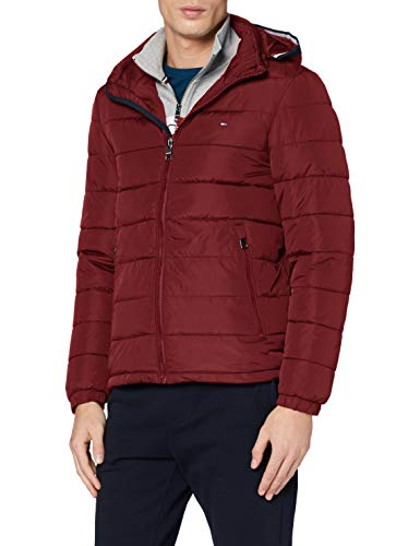 Tommy Hilfiger Herren Quilted Hooded Jacket Bomberjacke, Violett (Purple Vlp), XX-Large
