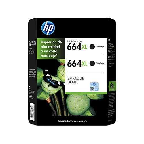 Tinta 664 Hp marca HP