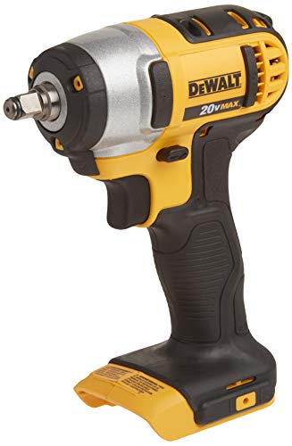 DEWALT 20V MAX Cordless Impact Wrench with Hog Ring, 3/8-Inch, Tool Only (DCF883B)