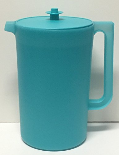 Tupperware Classic Sheer 1 Gal. Pitcher. Tropical Water/Sea Mist Seal