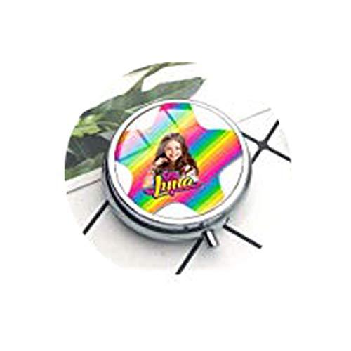 Collares superpopulares de Soy Luna Hechos a Mano con diseño de cabujón de Cristal y Pastillero