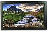 WQF Digitale Bilderrahmen 22 Zoll ultradünne Werbemaschine elektronisches Album 1920 & mal;1080 unterstützt HDMI1080P HD-Videowiedergabe LED-HD-Breitbild-Zeitschaltuhr