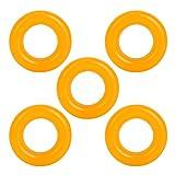 Grembiule avvolgitore per Bobine in Gomma 5PCS per avvolgitori per Macchine da Cucire Ruota in Gomma per Fili