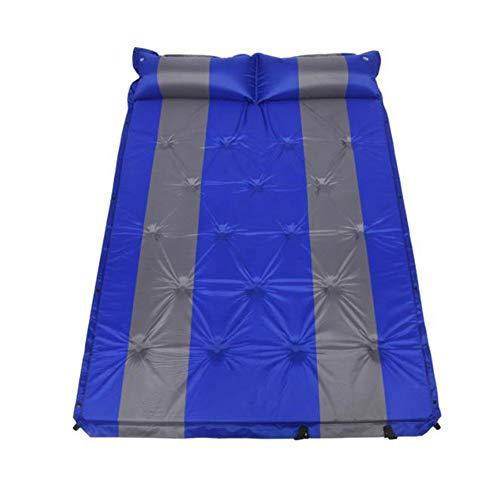 XINXI-MAO Camping-Tools. Mit befestigtem Kissen Wasserdicht Leichtgewicht Für 2 Personen Aufblasbare Außenluftmatratze Selbstaufblasende Double Size Compact Foam Camping Isomatten