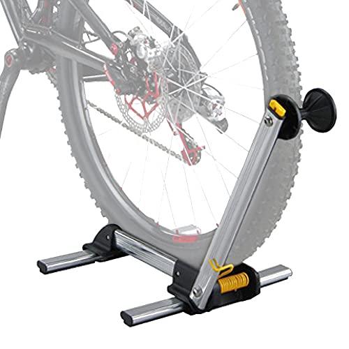 Aleación de Aluminio Soportes Bicicleta Suelo,Soporte Bici Suelo Ajustable, Ligero, Portátil Soportes para Bicicleta para 20-29' Bicicleta