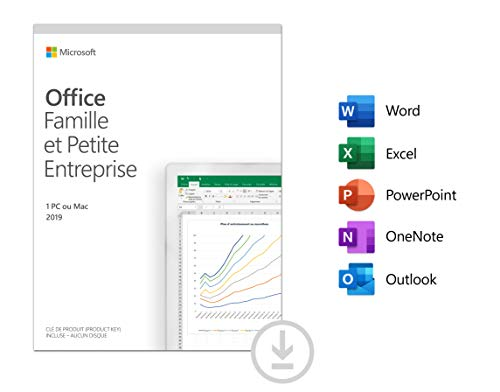 Office Famille et Petite Entreprise 2019 | Téléchargement | PC ou Mac