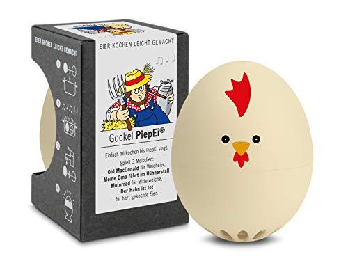 Brainstream Gockel PiepEi A005626 Minuteur à œufs avec 3 mél
