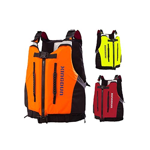 Cheap HJAZ Safety Sturdy Life Jacket Adult Swim Vest for Snorkeling, Swimming, Outdoor Play, Size: L...