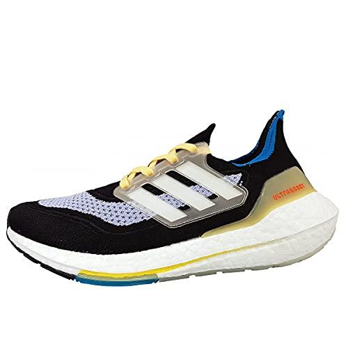 adidas Ultraboost 2 W - Zapatillas deportivas para mujer, color negro, H Flash Orange, 38.5 EU