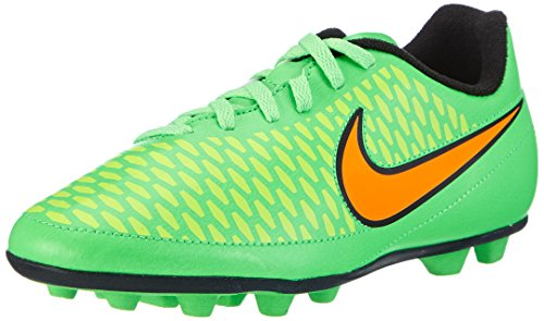 Nike - Jr. Magista Ola Fg-R, Scarpa Da Calcetto infantile, Verde (Green (Poison Green/Total Orange/Flash Lime/Black)), 33.5