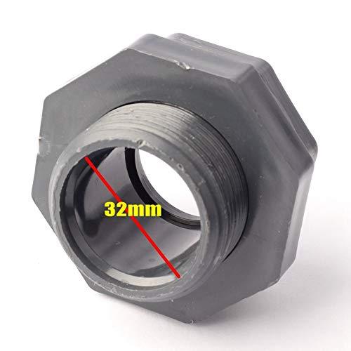 Bureze Binnendiameter 32 mm Stopcontact Type Water Tank Connectors Dikke PVC Materiaal Duurzame Vis Tank Fittings Aquarium DIY Onderdelen Fitting