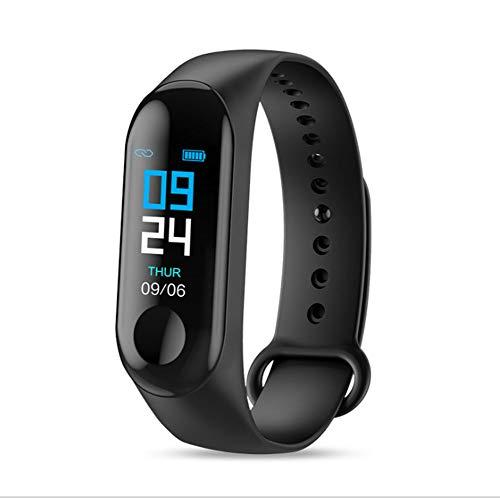 Twnhmj Fitness Tracker Hartslagmeter Fitness Smart Horloge Waterdicht IP67 Kleur Scherm Stap Counter Calorie Oproep SMS Push Stappenteller Horloge voor Vrouwen Mannen Kinderen