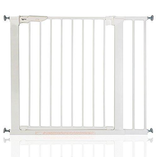BabyDan Premier Bébé Barrière de Sécurité en pour Escalier Blanc 86-93,3cm